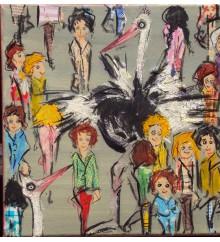 La folla in grigio n.3