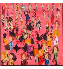 La folla in rosa n.1