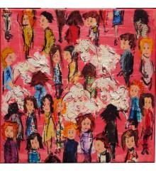 La folla in rosa n.2