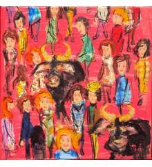 La folla in rosa n.3