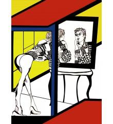 Mirroring woman