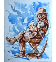 Bluesman di strada 1